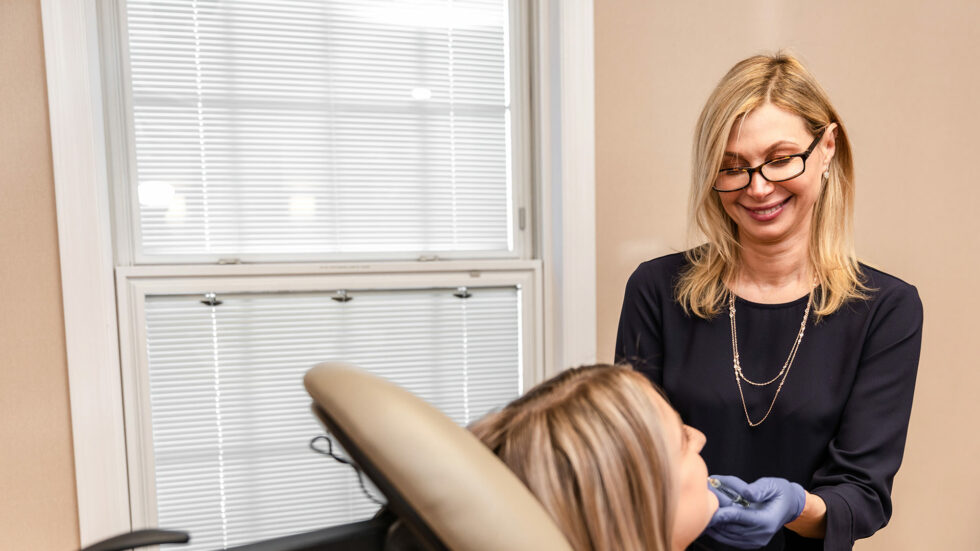 Cosmetic dermatology treatments for wedding in millburn, nj
