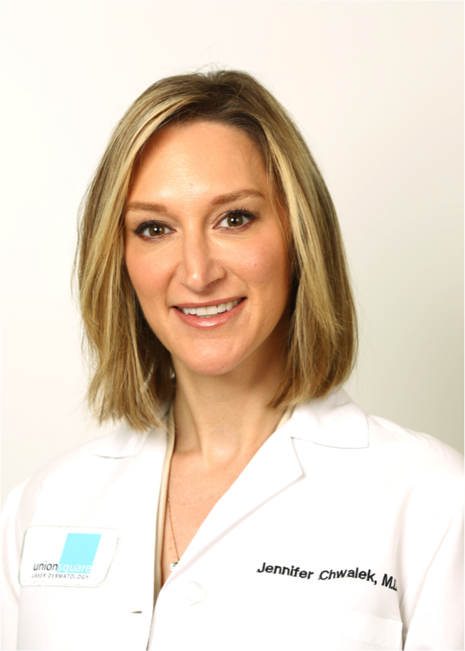 board-certified dermatologist, Dr. Jennifer Chwalek from Millburn Laser Center in Millburn, NJ